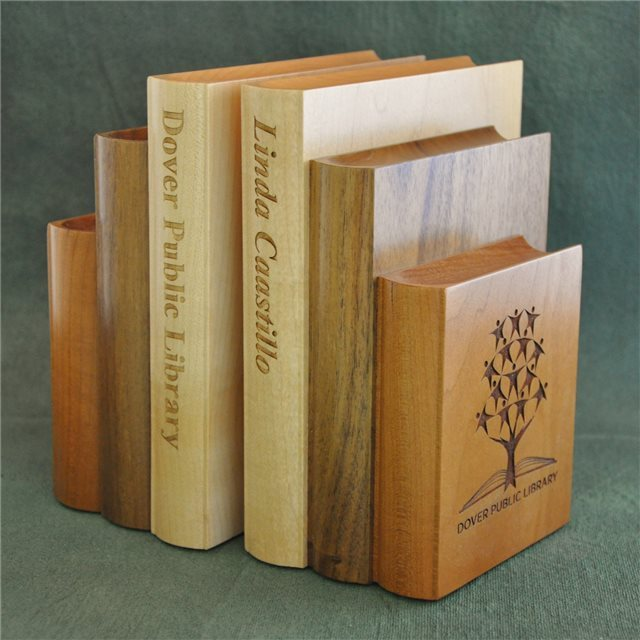 Warthers Bookend - Mixed Wood