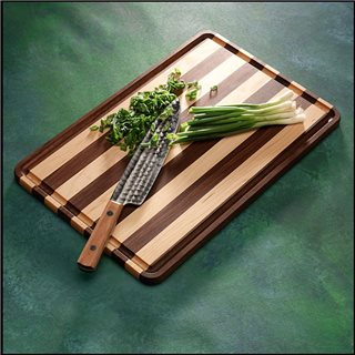 Cutting Board Mixed Wood (Laminated)