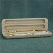 Pen/Letter Opener Set with Box - Solid Maple